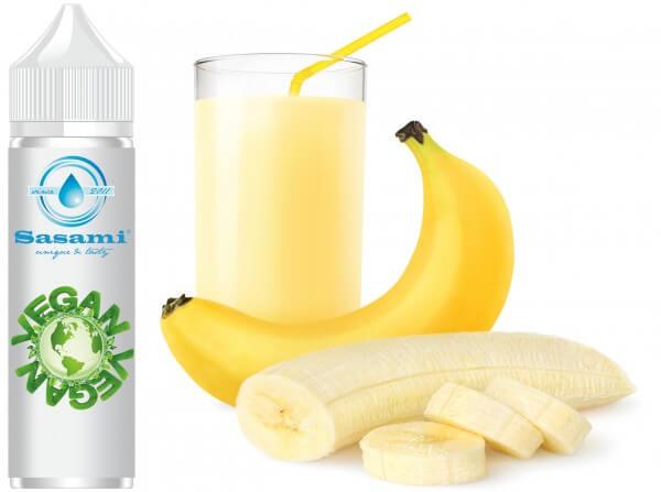 Milchshake Banane Aroma - Sasami (DE) Konzentrat - 100ml